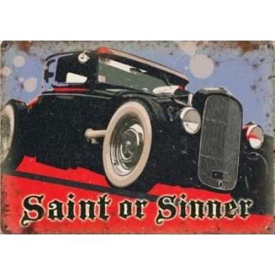 photo Saint or sinner