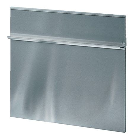 Fond de hotte cr dence hotte inox bross 60 x 85 cm for Fond de hotte en inox