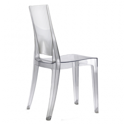 photo Chaise en polycarbonate SCALA lot de 2 pièces