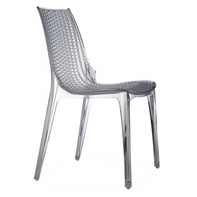 photo Chaise en polycarbonate TAMIA lot de 2 pièces